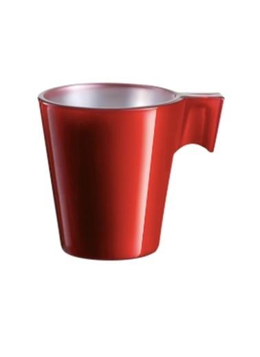 LWP Shop Luminarc Flashy Espresso Bardak Seti Kırmızı
